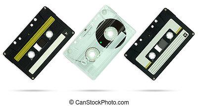 契约, 剪下的资料, 放置, 隔离, 盒式磁带, 背景, 白色, path.