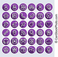 套間, 圖象, 网絡, 輪, 社會