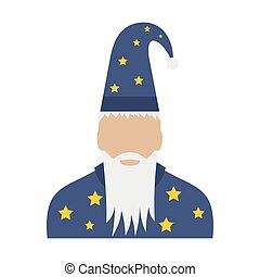 套間, 星, 帽子, 巫術師