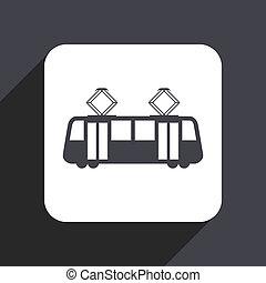 套間, 灰色, 電車, 被隔离, 設計, 网, 背景, 圖象