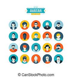 套間, 裝置設計, avatar, 圖象