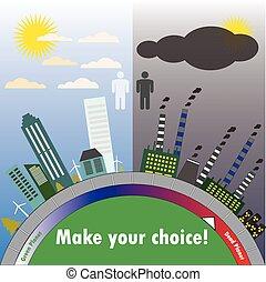 套間, 規模, 打掃, 城市, contamination., 骯髒, vector., design.