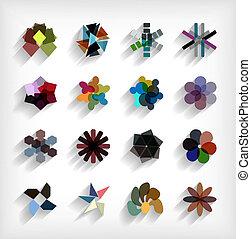 套間, 集合, 事務, 摘要, 幾何學, 圖象, 3d