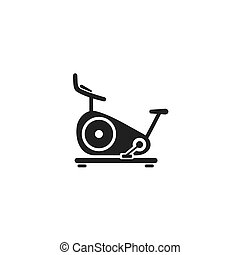 套间, 网, 自行车, 矢量, 静止, icon., 黑色