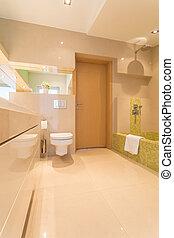 奢侈, 浴室, 在中, 大, 住处