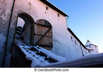 奧地利, 要塞, 薩爾茨堡,  hohensalzburg