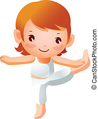 女の子の運動