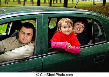 女の子, わずかしか, 座りなさい, 結婚されている, 自動車, 恋人, 公園
