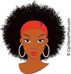 女の子, アフリカ
