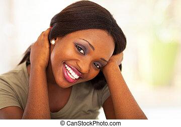 女の子, アメリカ人, かわいい, アフリカ, 十代