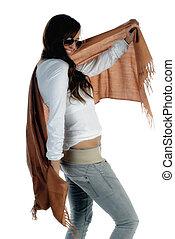 女の子, スカーフ