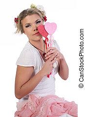 女の子, バレンタイン