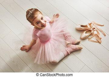 女の子, ピンクのチュチュ
