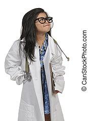女の子, 医者