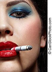女の子, 喫煙
