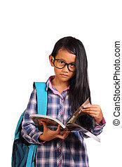 女の子, 学生