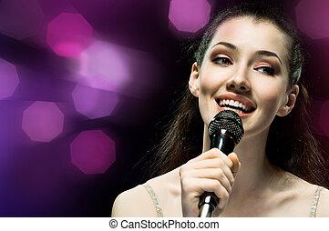 女の子, 歌うこと