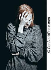女の子, 頭痛