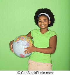 女の子, globe., 保有物