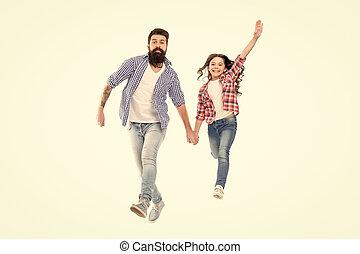 女の子, hands., 保有物, 幸せ, 子供, 友人, 一緒に。, わずかしか, daughter., 情報通, 愛らしい, 娘, のように, 父, 偶然, 小さい, あごひげを生やしている, 私, スタイル, 歩くこと