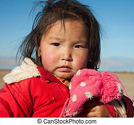 女の子, mongolian