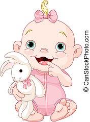 女の赤ん坊, かわいい