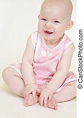 女の赤ん坊, モデル