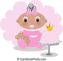 女の赤ん坊
