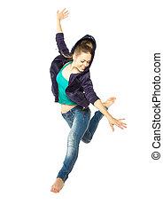女孩舞蹈家
