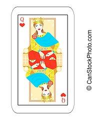女帝, 心, いくつか, カード