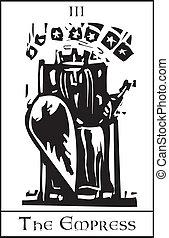 女帝, tarot カード