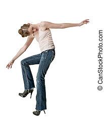 女性のダンス