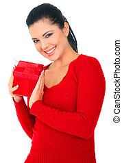 女性の保有物, 贈り物, 赤