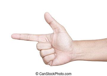 女性の指すこと, 手