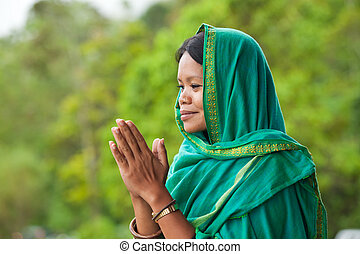 女性の祈ること