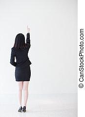 女性の背部, ビジネス, 光景