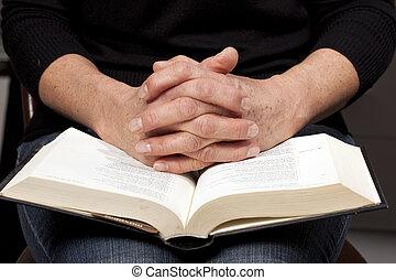 女性の 読書, 聖書