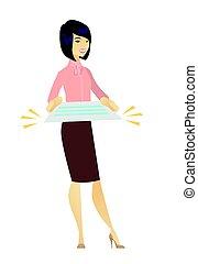 女性ビジネス, 保有物, contract.