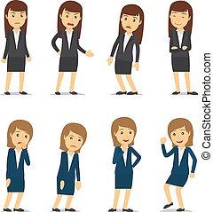 女性ビジネス, 感情
