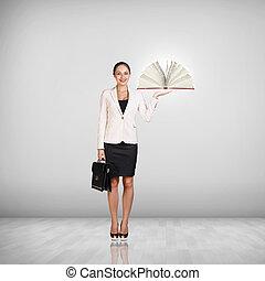女性実業家, ∥で∥, a, 本