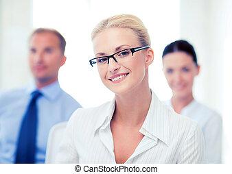 女性実業家, オフィス
