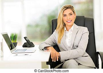女性実業家, オフィス, モデル