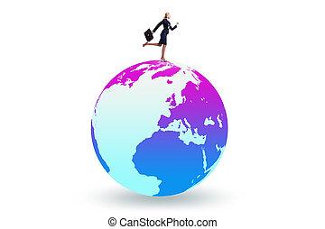 女性実業家, 上, 世界