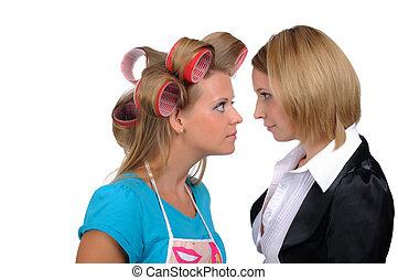 女性実業家, 主婦