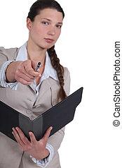女性実業家, 指すこと, ポスター