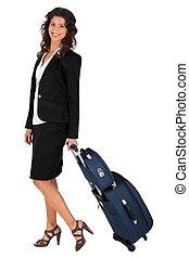 女性実業家, 旅行, ビジネス
