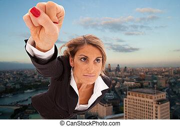 女性実業家, 極度
