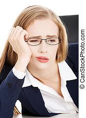 女性実業家, 疲れた