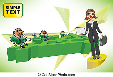 女性実業家, 競争
