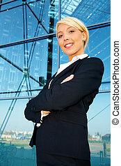 女性実業家, 肖像画
